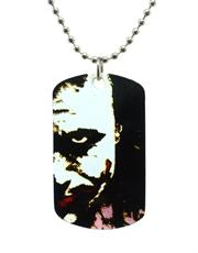 Batman Dark Knight Joker Pop Art Dog Tag Necklace