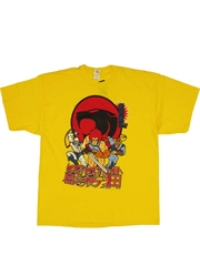 Thundercats T-Shirt, Thundercats Japanese Pop Yellow