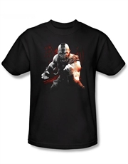 Bane T-Shirt, Bane Dark Knight Rises T-Shirt, Bane Battleground Black
