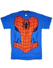 Spiderman T-Shirt, Spiderman Spidey Costume Blue