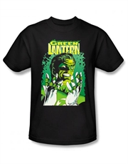 Green Lantern T-Shirt, Green Lantern Cover Black
