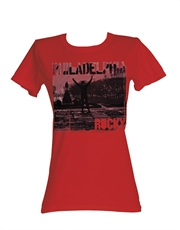 Rocky T-Shirt, Rocky Womens T-Shirt, Philadelphia Red
