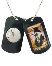 Watchmen Rorschach Black Dog Tags