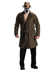 Watchmen Costume, Mens Rorschach Big Outfit