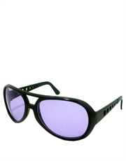 Elvis Sunglasses, Elvis Black Purple Style 6