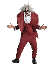 Beetlejuice Costume, Mens Beetlejuice Shrunken Head Costume