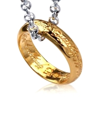Lord of the Rings Style 3 Ring Necklace