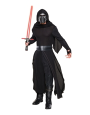 The Force Awakens Costume, Mens Star Wars Deluxe Kylo Ren Outfit