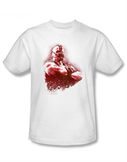 Bane T-Shirt, Bane Dark Knight Rises T-Shirt, Bane Spray White