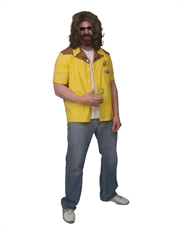 Big Lebowski Costume, Mens The Dude Bowling Shirt Costume