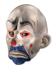 Dark Knight Costume Accessory, Mens Joker Clown 3/4 Mask
