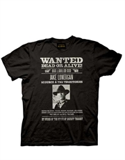 Cowboy & Aliens T-Shirt, Cowboy & Aliens Wanted Black