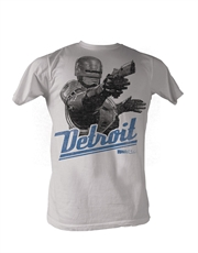 Robocop T-Shirt, Robocop Detroit Light Grey