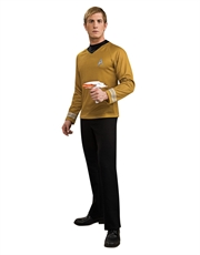 Star Trek Movie Costume, Mens Kirk Gold Costume Top Style 2