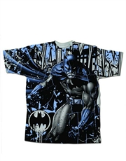 Batman T-Shirt, Batman Mr Bat Grey