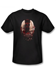 Bane T-Shirt, Bane Dark Knight Rises T-Shirt, Bane Look Black