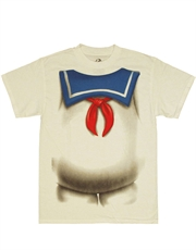 Ghostbusters T-Shirt, Ghostbusters Stay Puft Costume White