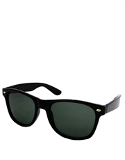 Days Thunder Cruise Style Sunglasses, Black Frame / Smoke Lens