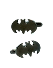 Batman Symbol Dark Grey Cufflinks