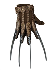 A Nightmare On Elm St Costume Accessory, Mens Freddy Deluxe Glove