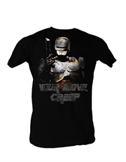 Robocop T-Shirt, Robocop Your Move Black