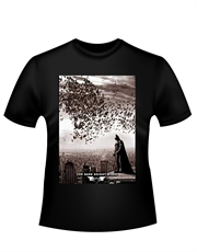 Batman T-Shirt, Dark Knight Rises T-Shirt, City Bats Black