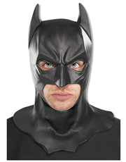 Dark Knight Rises Costume Accessory, Mens Batman Full Mask