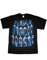 Iron Man T-Shirt, Iron Man The Hall Black