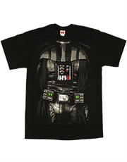 Star Wars T-Shirt, Star Wars Darth Vader Costume Black