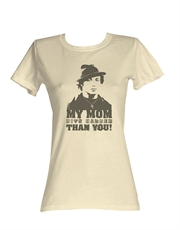 Rocky T-Shirt, Rocky Womens T-Shirt, My Mom His Harder French Vanilla