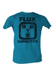 Back To The Future T-Shirt, Back To The Future Flux Blue