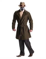 Watchmen Costume, Mens Rorschach Costume