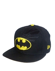 Batman Shield Black Cap