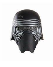 The Force Awakens Costume Accessory, Mens Star Wars Kylo Ren 1/2 Mask