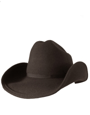 Outback Shapeable, Wool Felt Hat, Brown