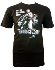 Robocop T-Shirt, Robocop All Cop Black
