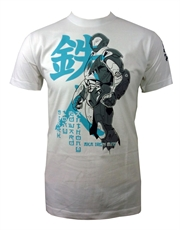 Iron Man T-Shirt, Iron Man Samauri White