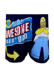 Simpsons Underwear, Mens Simpsons Underwear, Homer The Best Awesome Dad Boxer Shorts