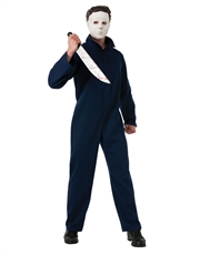 Halloween Costume, Mens Michael Myers Deluxe Killer Outfit