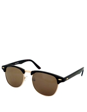 Glengarry Pacino Style Sunglasses, Tortoise & Gold Frame / Brown Lens