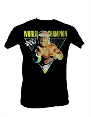 WWE T-Shirt, WWE Hulk Hogan World Champion Black