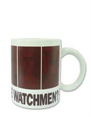 Watchmen Art Thermal White Mug