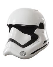 The Force Awakens Costume Accessory, Mens Star Wars Stormtrooper 2 Piece Helmet
