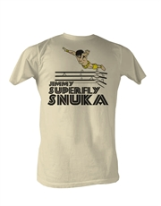 WWE T-Shirt, WWE Jimmy Superfly Snuka Superflying French Vanilla