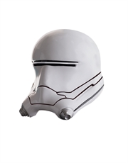The Force Awakens Costume Accessory, Mens Star Wars Flametrooper 2 Piece Helmet