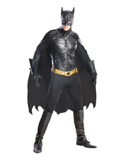 Dark Knight Rises Costume, Mens Batman Grand Heritage Costume Style 2