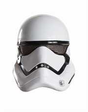 The Force Awakens Costume Accessory, Mens Star Wars Stormtrooper 1/2 Mask