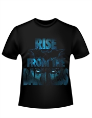 Batman T-Shirt, Dark Knight Rises T-Shirt, Rise From Darkness Black