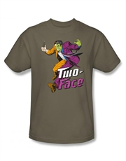 Two-Face T-Shirt, Two-Face Harvey Run Green