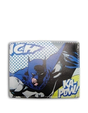 Batman Wallet, Batman Comic Ka-Pow Black Wallet